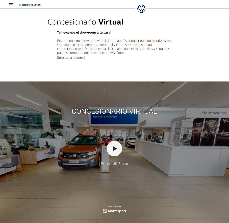 Concesionario digital Volkswagen